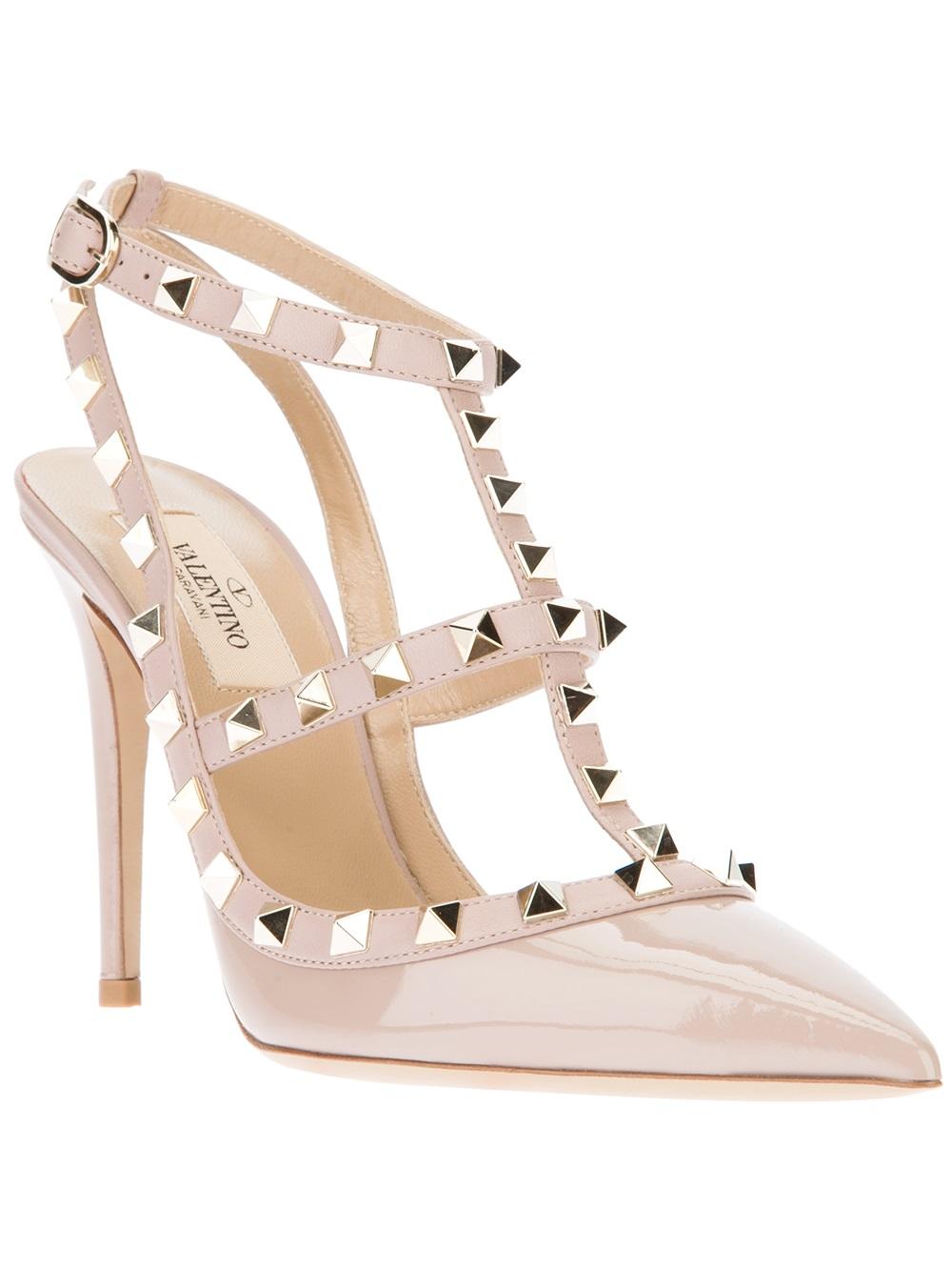 Valentino Garavani Rockstud Block Heel Sandal (Women