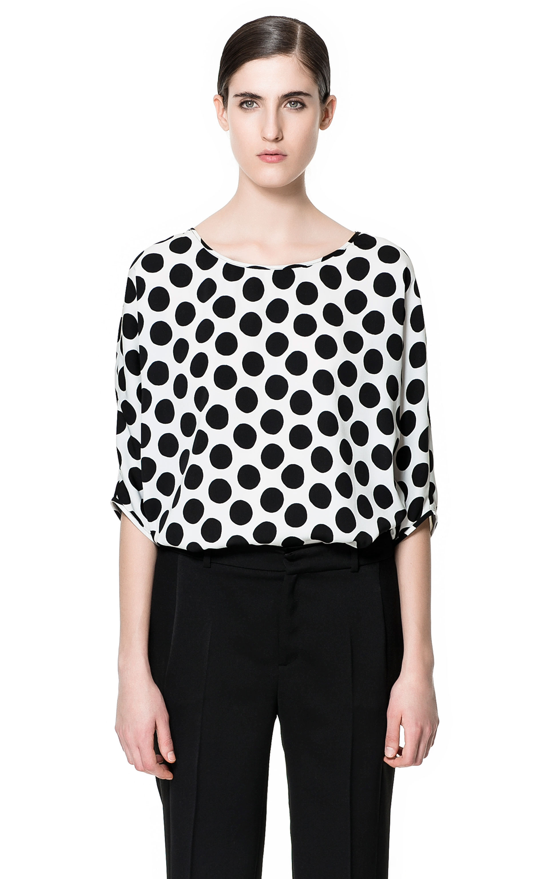 Find black white polka dot blouse at ShopStyle. Shop the latest collection of black white polka dot blouse from the most popular stores - all in one.