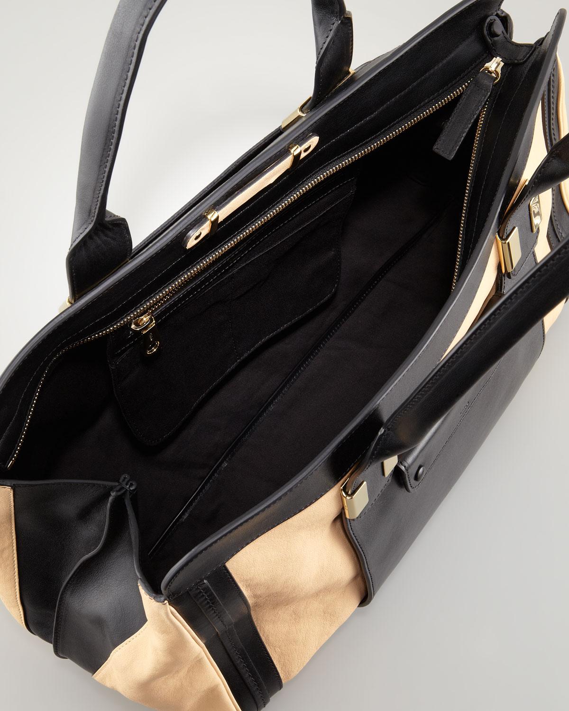 Chlo�� Alice Large Satchel Bag in Beige (stem ginger)   Lyst