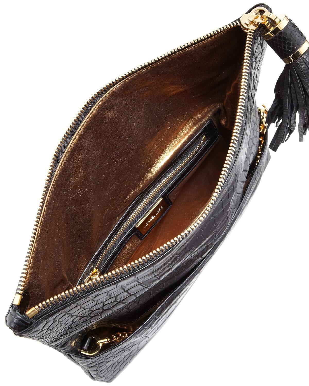 Bag Foldover Clutch Clutch Large Bag Foldover Large Tonne Tonne m0w8vNnO