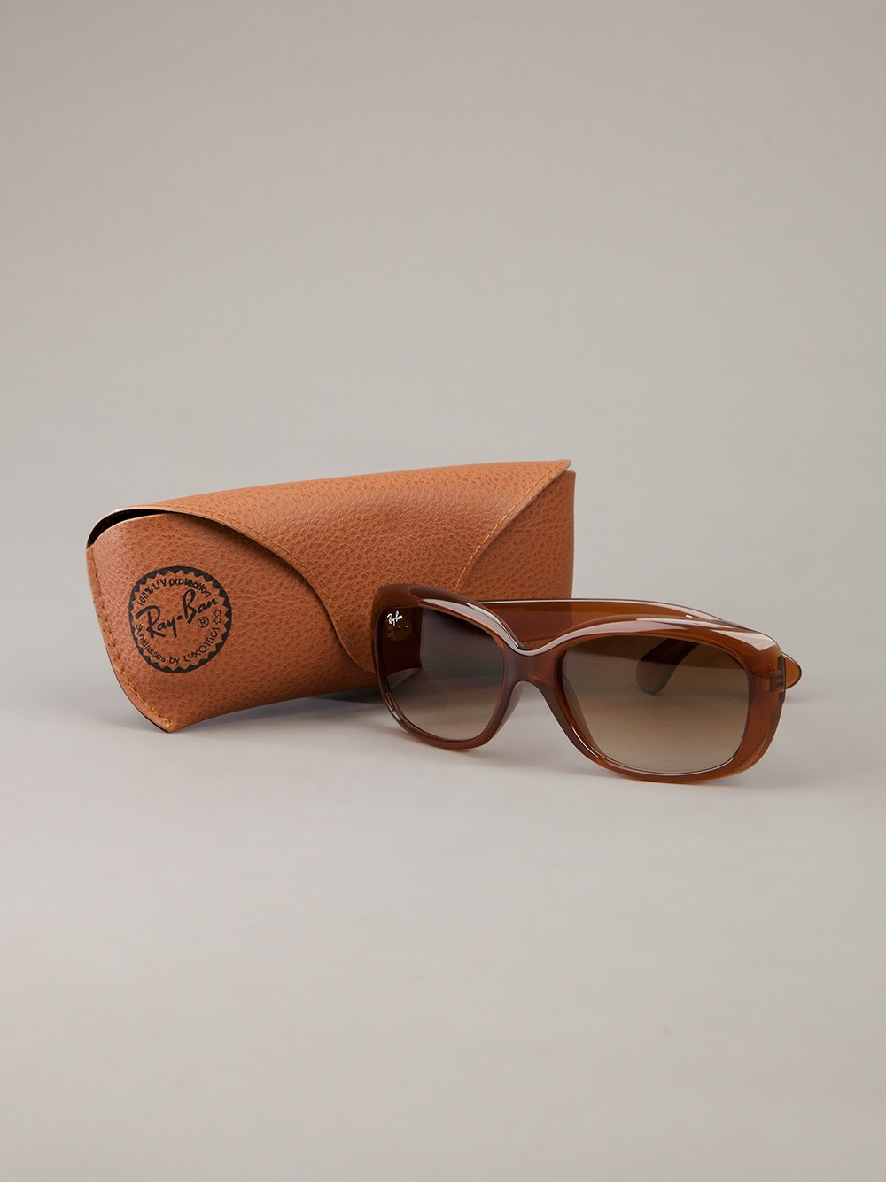 Maui Jim Warranty >> Ray-Ban Thick Framed Glasses in Brown (Orange) - Lyst