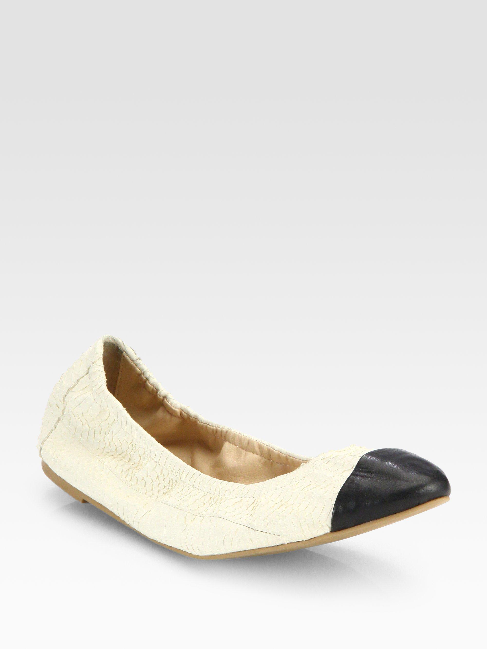 Loeffler Randall Leather Ballet Flats discount top quality s6bXPrMz