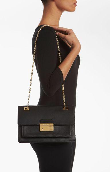 Wholesale Michael Kors Blake Shoulder - Bags Michael Kors Gia Shoulder Bag Black