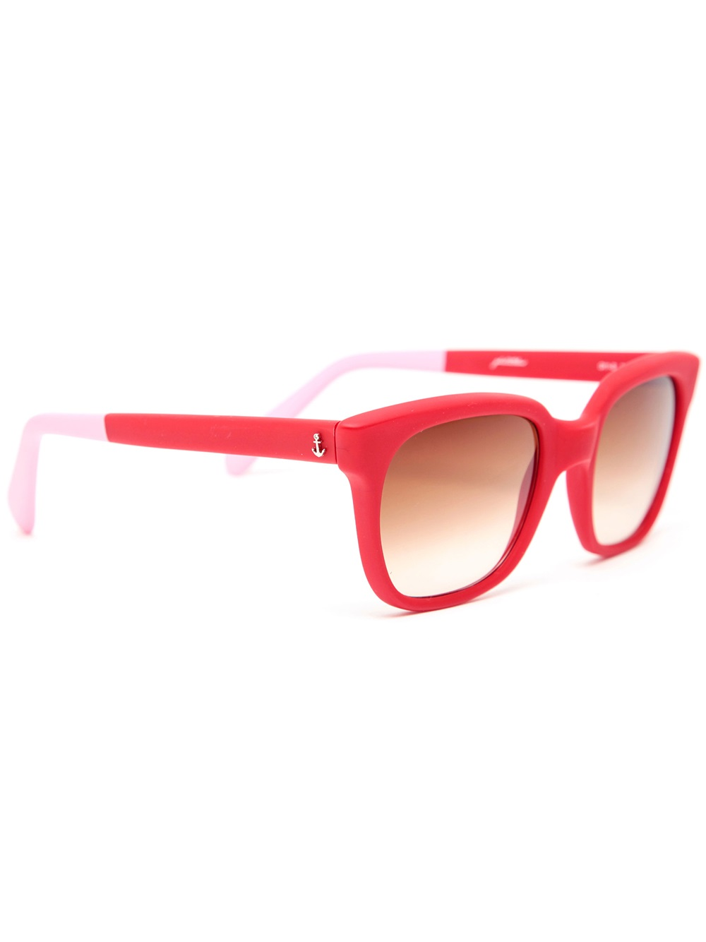 Sheriff & Cherry G11s Futura Red Matte Sunglasses