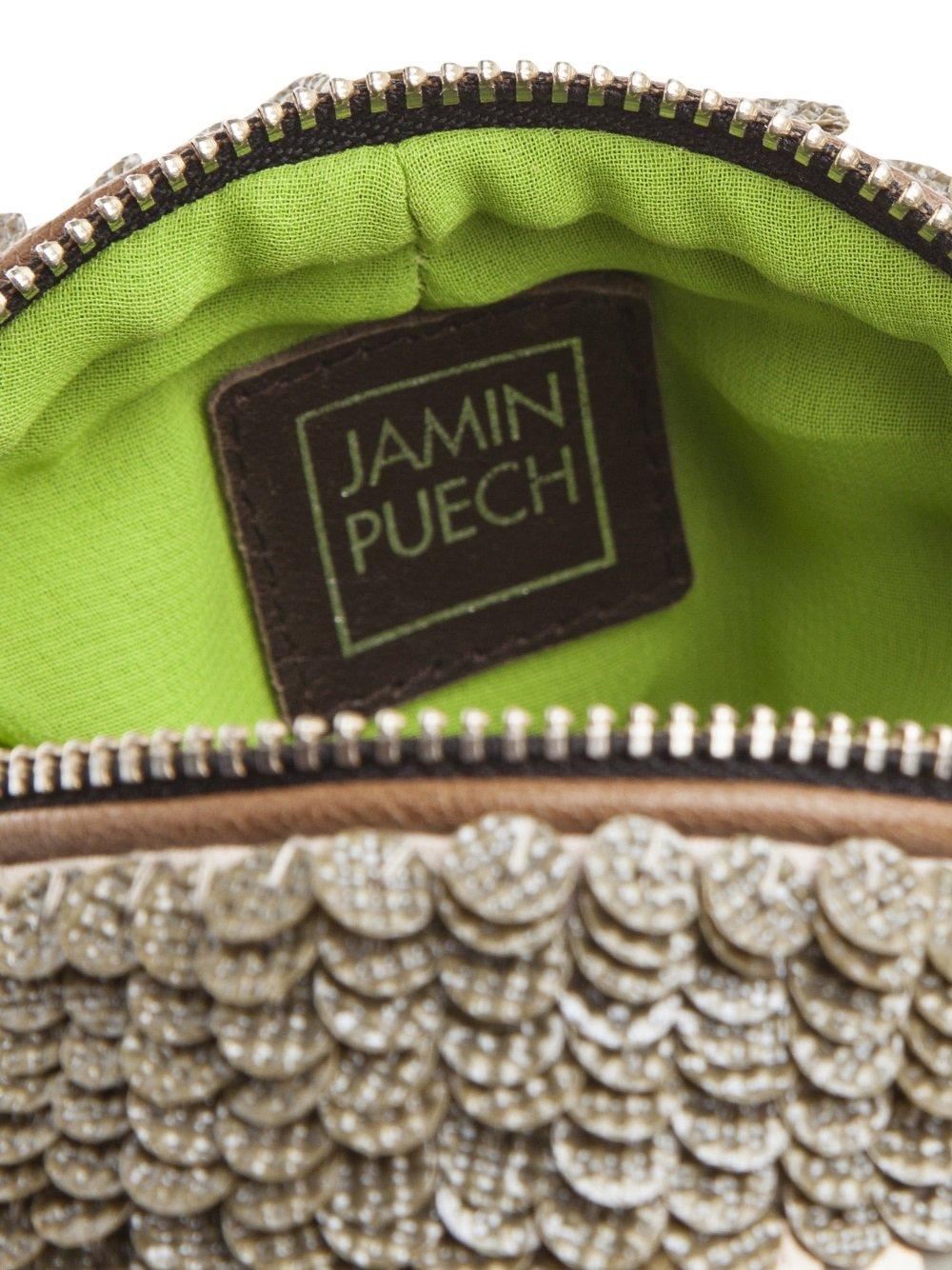 Jamin Puech Monte Carlo Cross Body in Green (Natural)