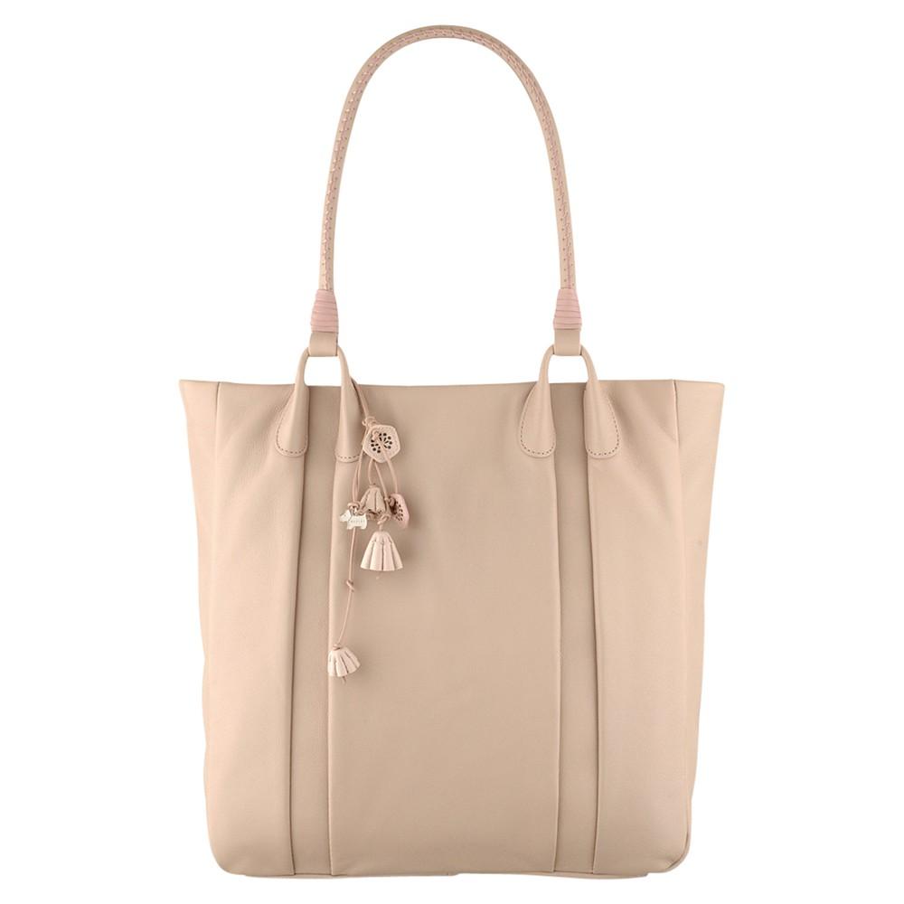 Radley Bentley Leather Large Tote Handbag In Pink