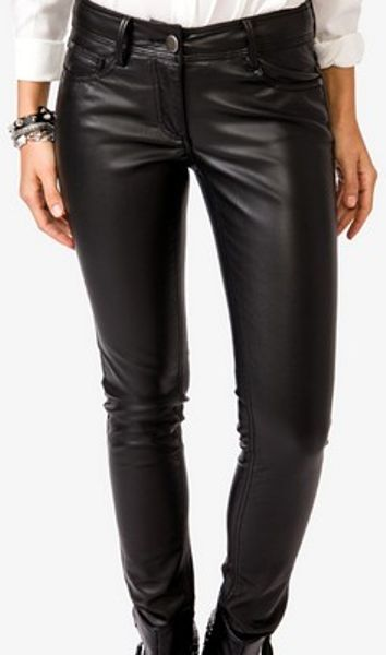 Popular Leather Pants Women39s Cigarette Pants Women39s Faux Leather Pants Wome