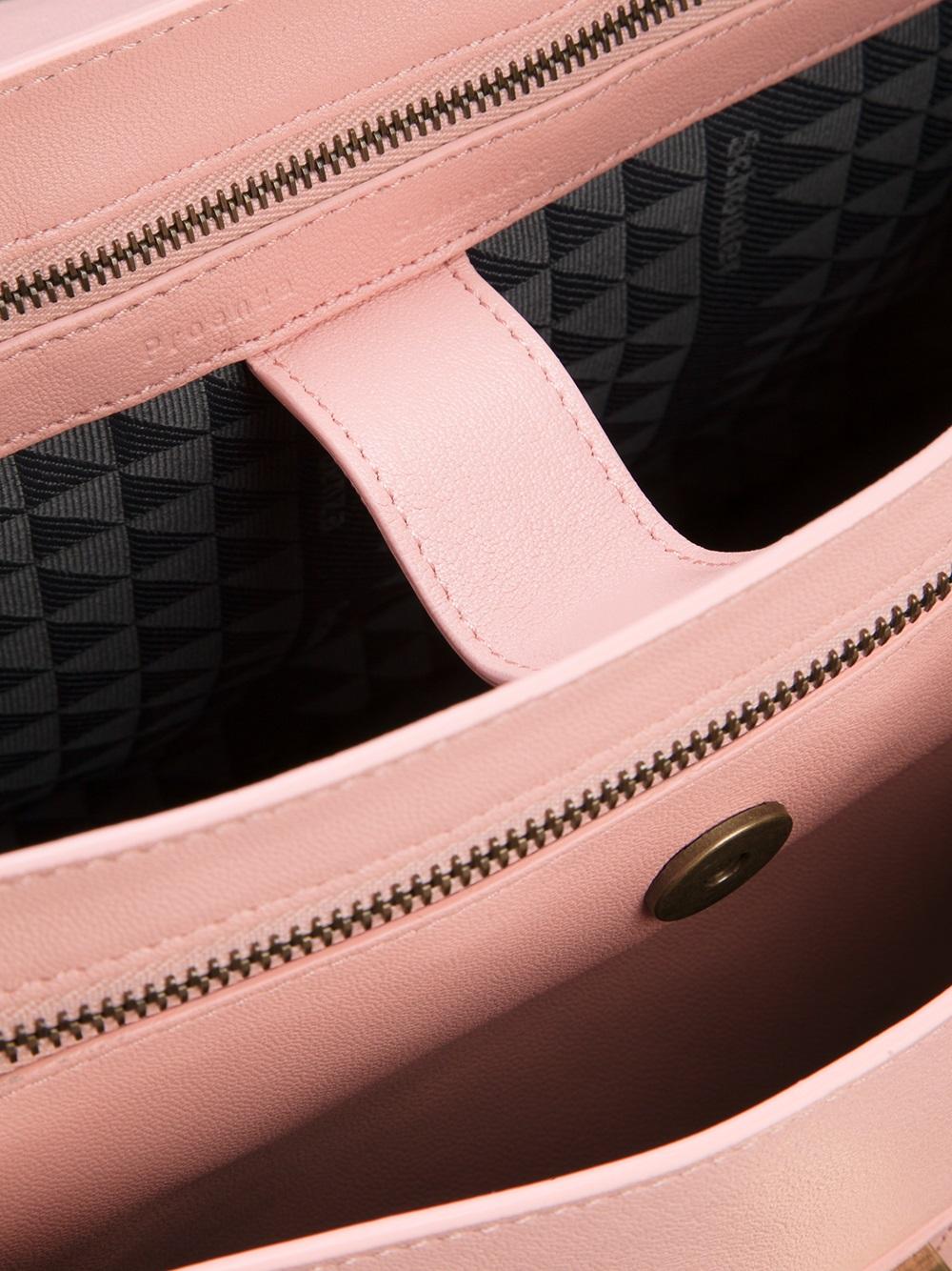 7920da2138 Lyst - Proenza Schouler Ps1 Medium Satchel in Pink