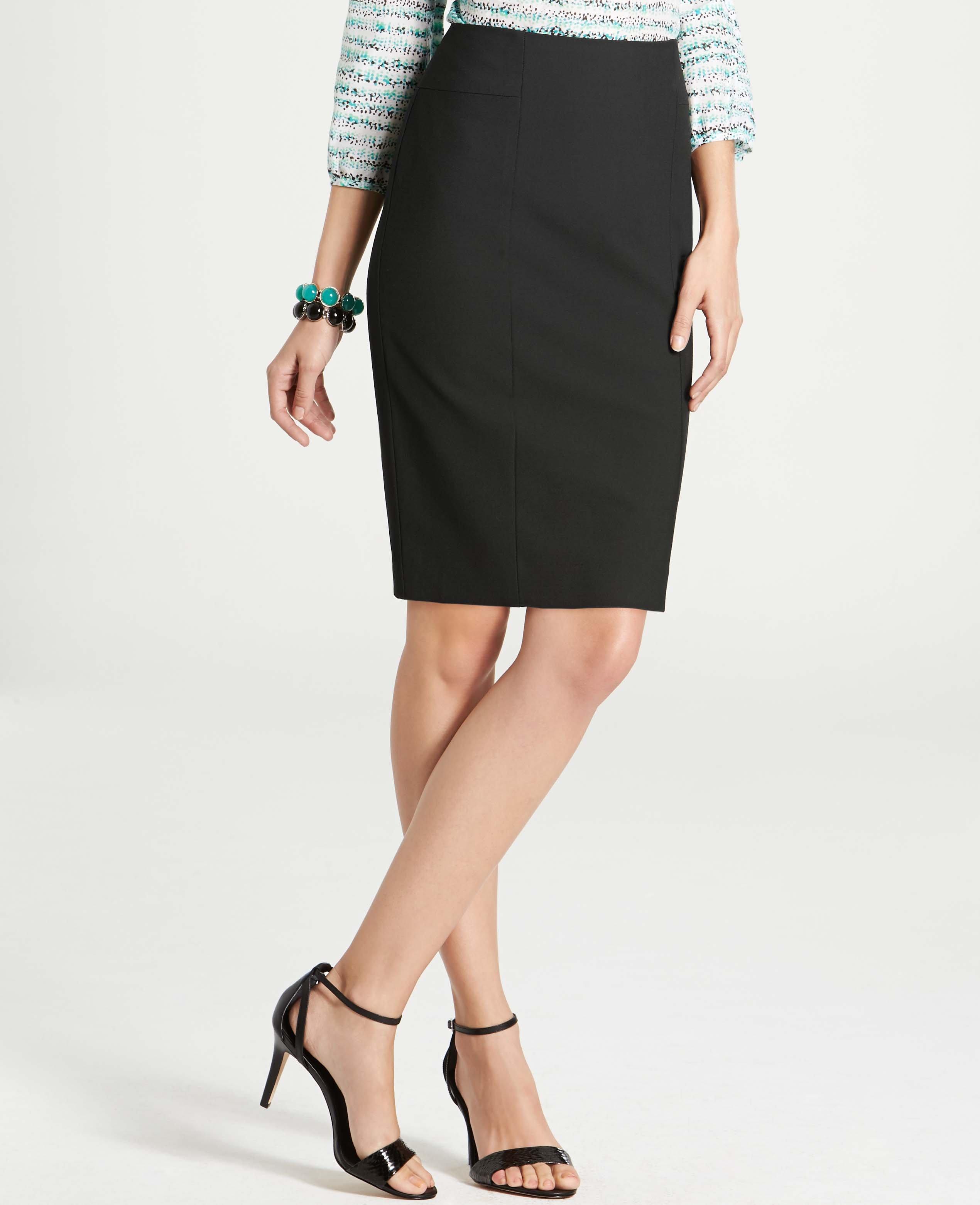 087526195 Ann Taylor All-Season Stretch Seamed High Waist Pencil Skirt in ...