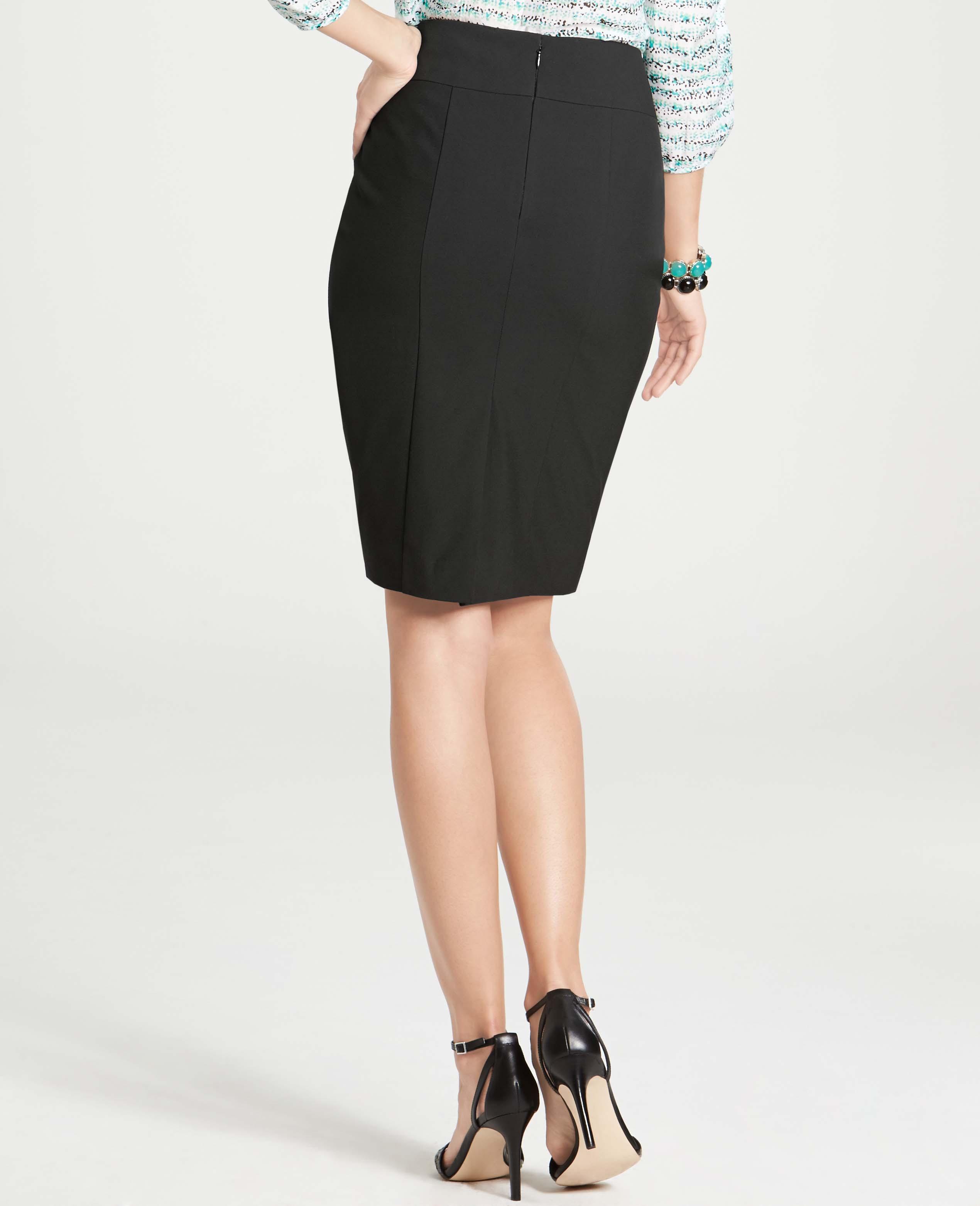 e2c08aba1875 Ann Taylor All-Season Stretch Seamed High Waist Pencil Skirt in ...