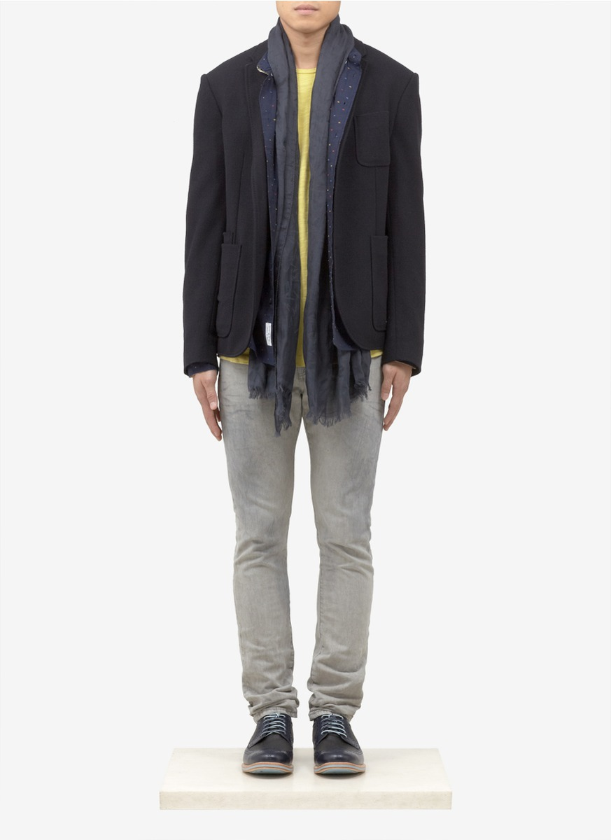 Scotch Amp Soda Ralston Slim Fit Vintaged Washed Jeans In