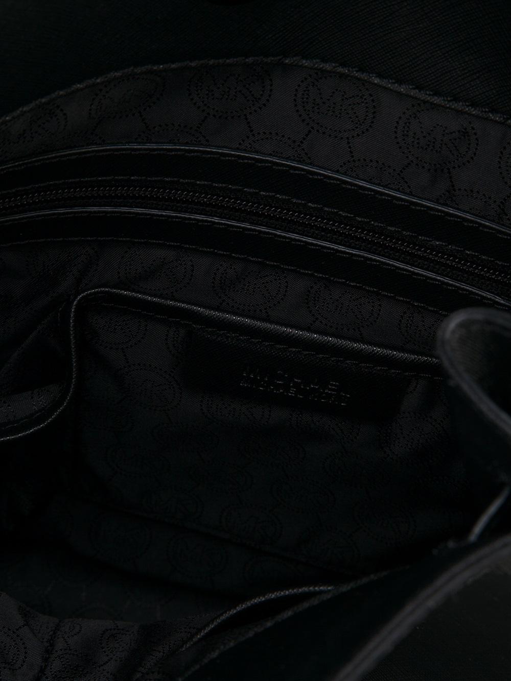 MICHAEL Michael Kors Hamilton Large Tote in Black