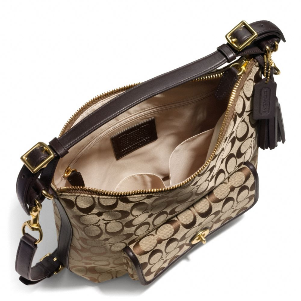 2ab642dcab855 ... cheap lyst coach legacy courtenay hobo shoulder bag in signature fabric  ef351 5aa7c