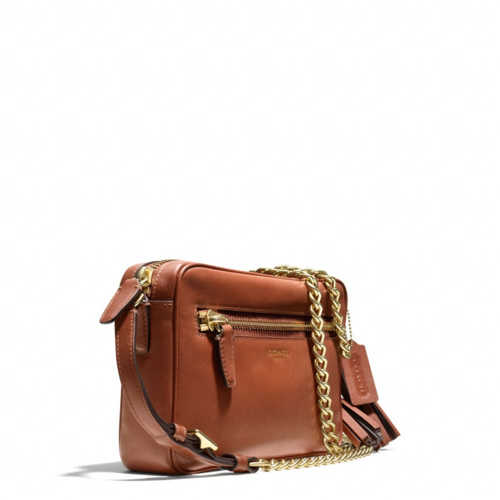 c8089b4a07 Lyst - COACH Legacy Flight Bag in Leather in Brown