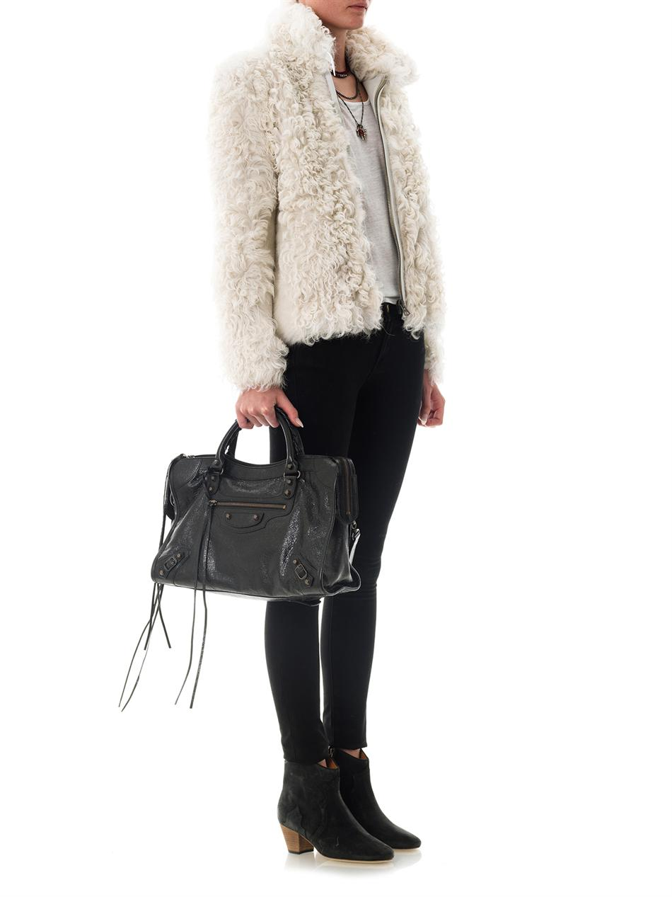 Tahari Leather Jacket