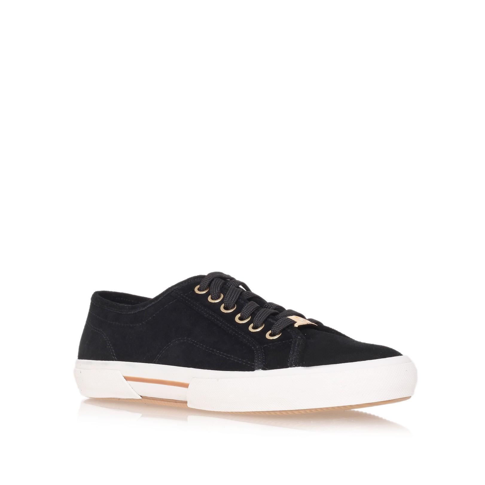 michael michael kors boerum sneaker shoes in black for men. Black Bedroom Furniture Sets. Home Design Ideas