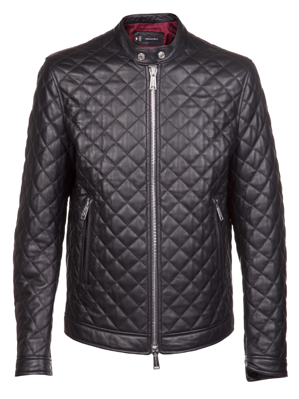 Lyst - Dsquared² Quilted Leather Jacket in Black for Men : leather quilted jacket men - Adamdwight.com