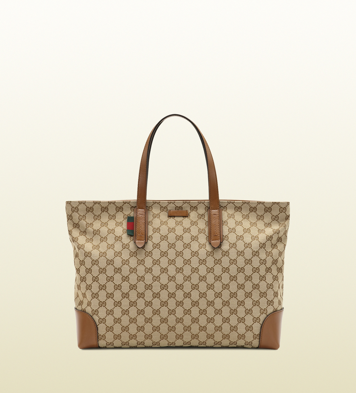 Gucci Large Original Gg Canvas Tote in Natural for Men | Lyst