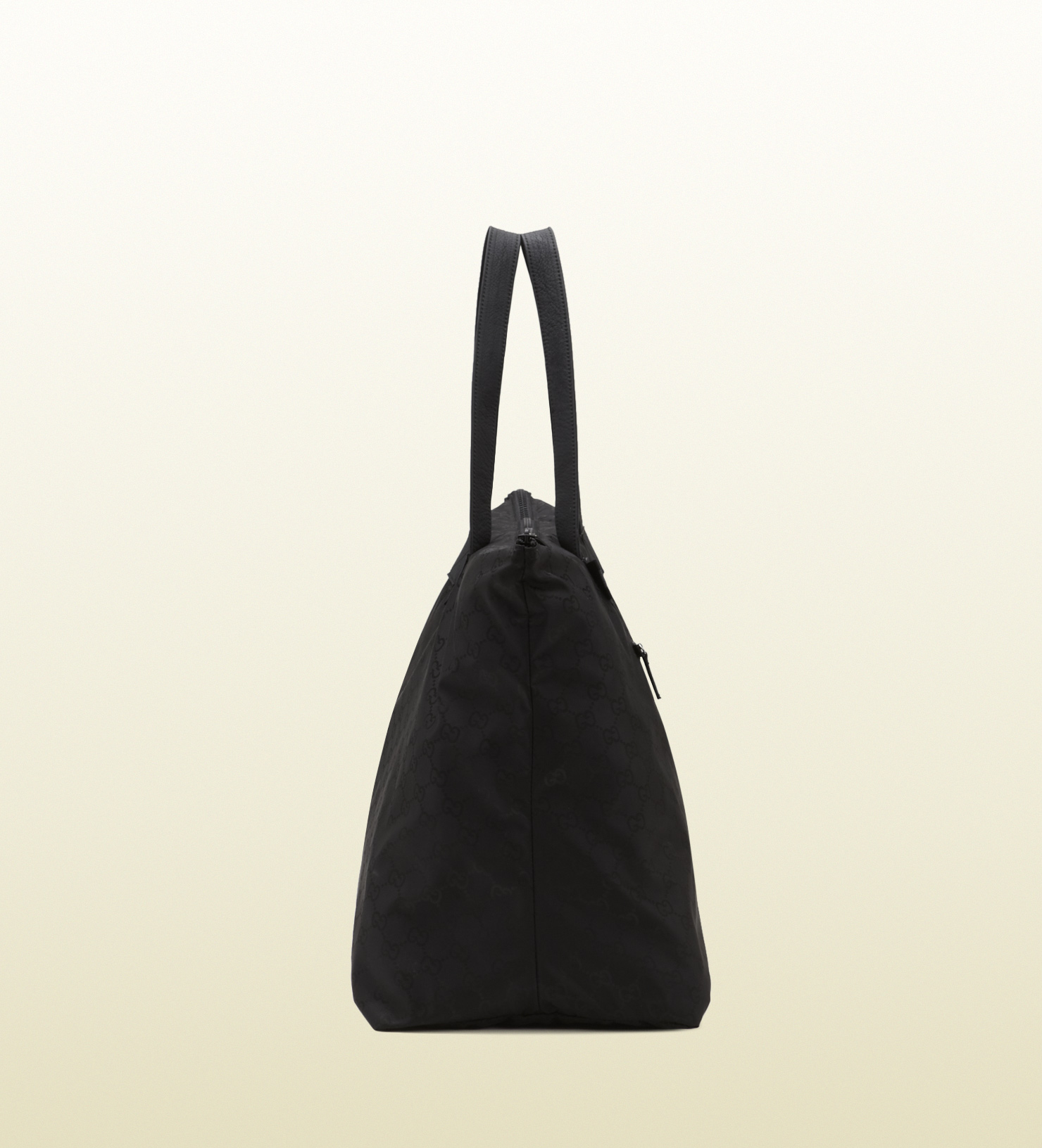 d3c77a4b1133 Lyst - Gucci Black Gg Nylon Duffel Bag From Viaggio Collection in Black for  Men
