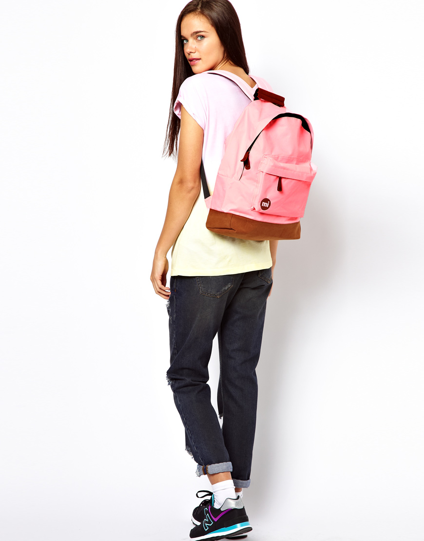 Mi Pac Classic Backpack In Pink