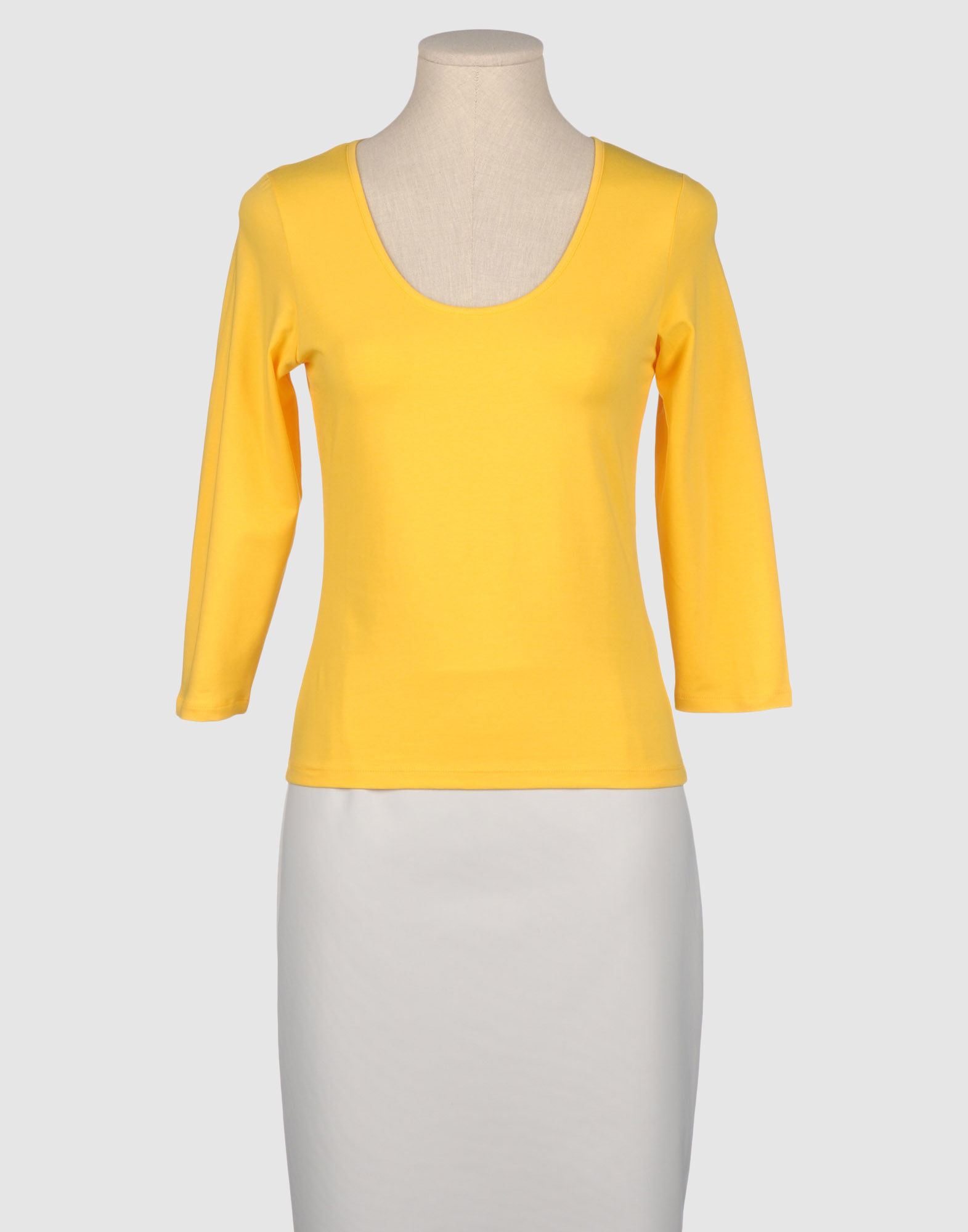 Carouzos Long Sleeve T Shirt In Yellow Save 56 Lyst