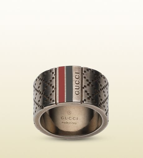Gucci Diamantissima Ring Men