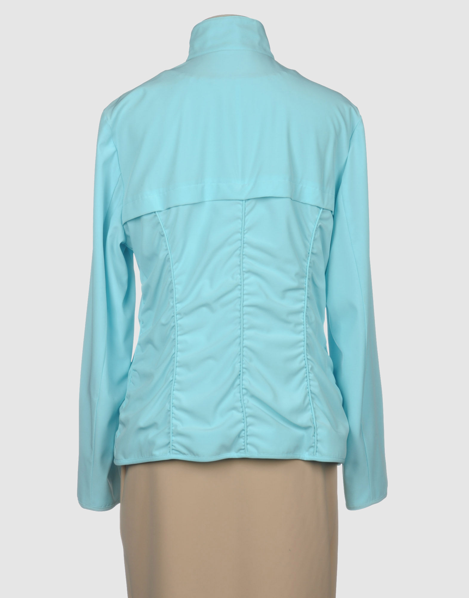 betty barclay jacket in blue turquoise lyst. Black Bedroom Furniture Sets. Home Design Ideas