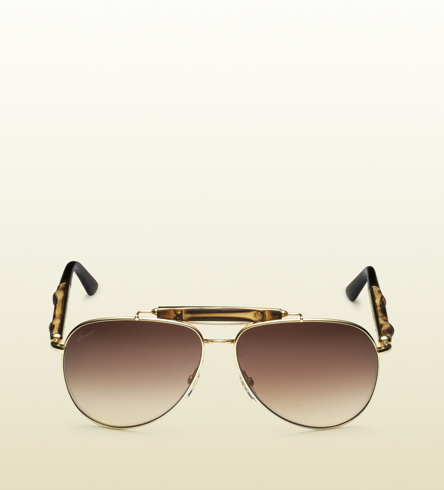 ad508870e13 Gucci Sunglasses Mens Womens Aviator Bamboo eBay - oukas.info