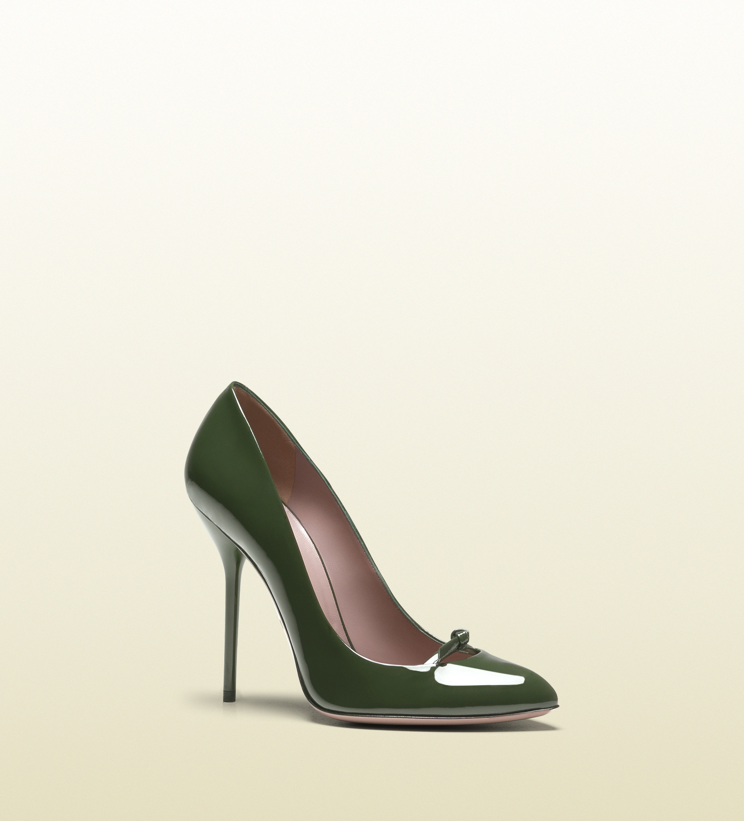 Gucci Beverly Patent Leather High Heel