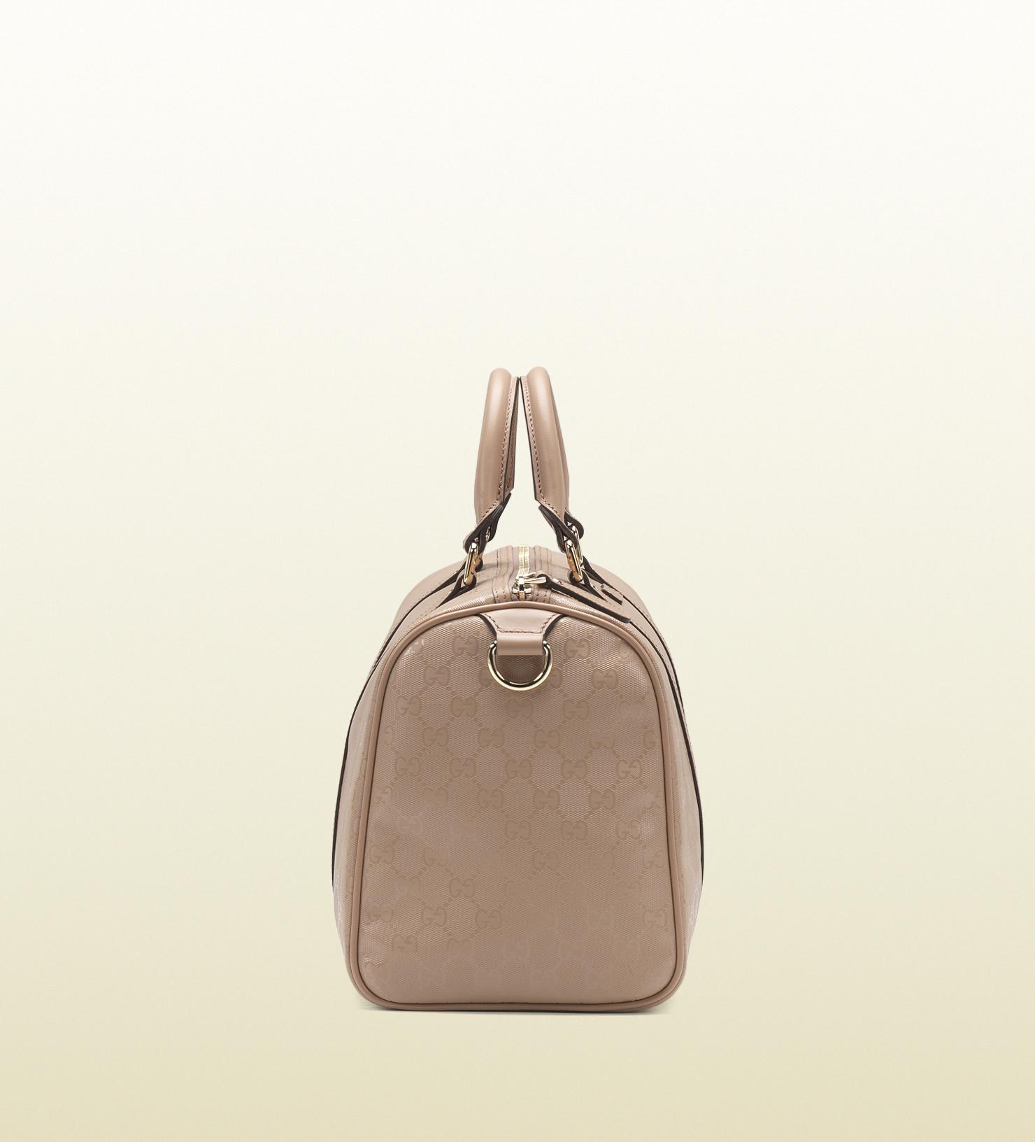 fe380b152a89 Gucci Joy Leather Boston Bag in Pink - Lyst