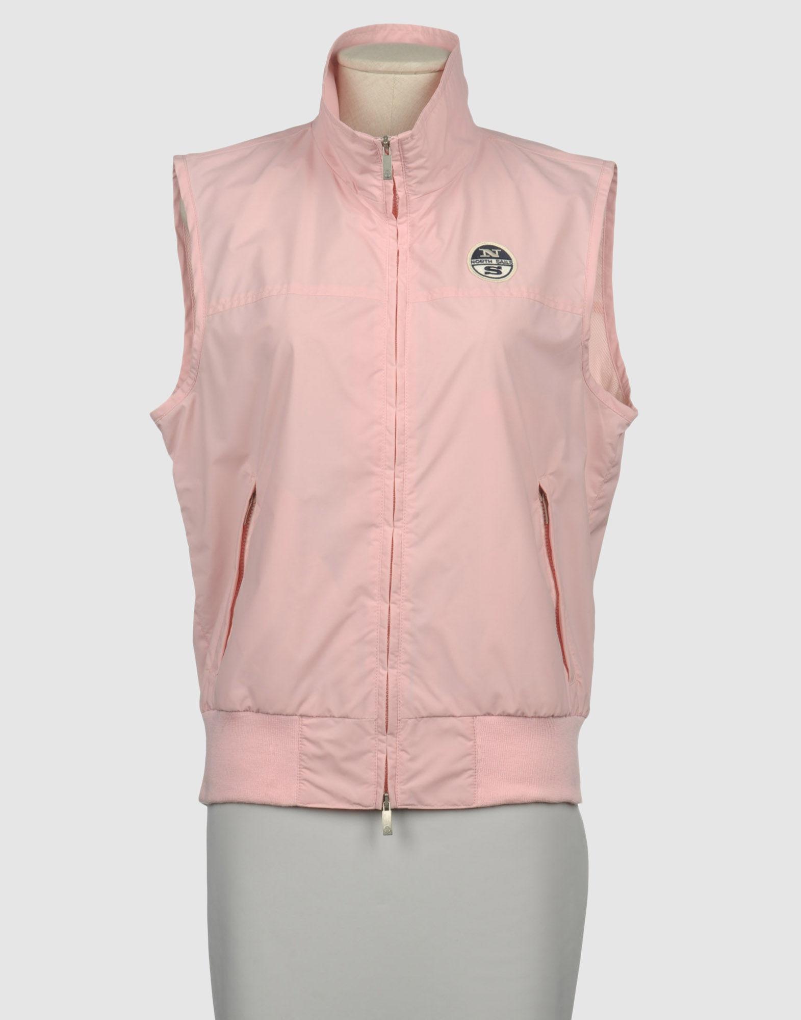 lyst north sails jacket in pink. Black Bedroom Furniture Sets. Home Design Ideas