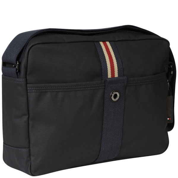 Tommy Hilfiger Mens Cameron Messenger Bag In Black For Men