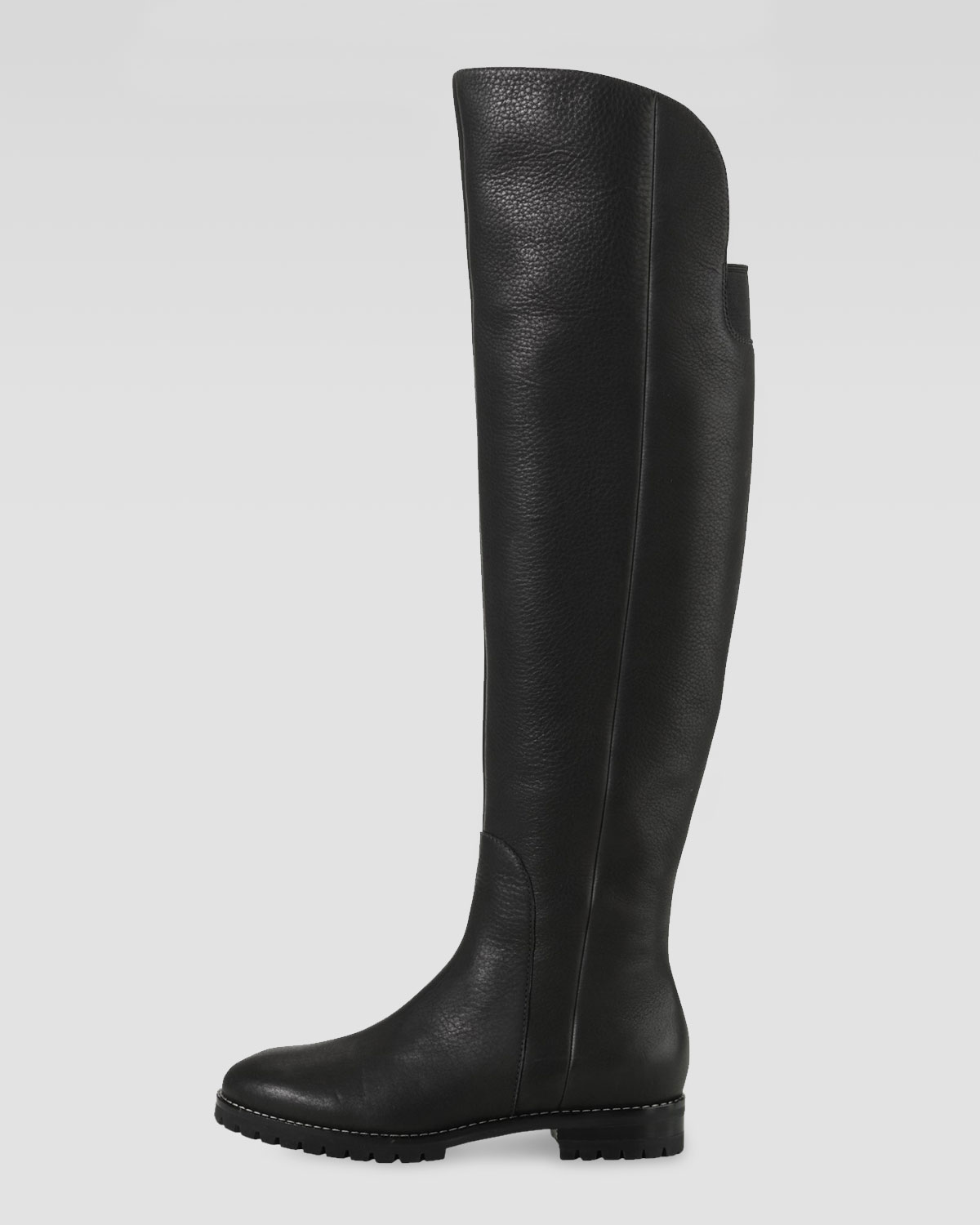 Cole haan Estella Waterproof Over the knee Boot in Black | Lyst