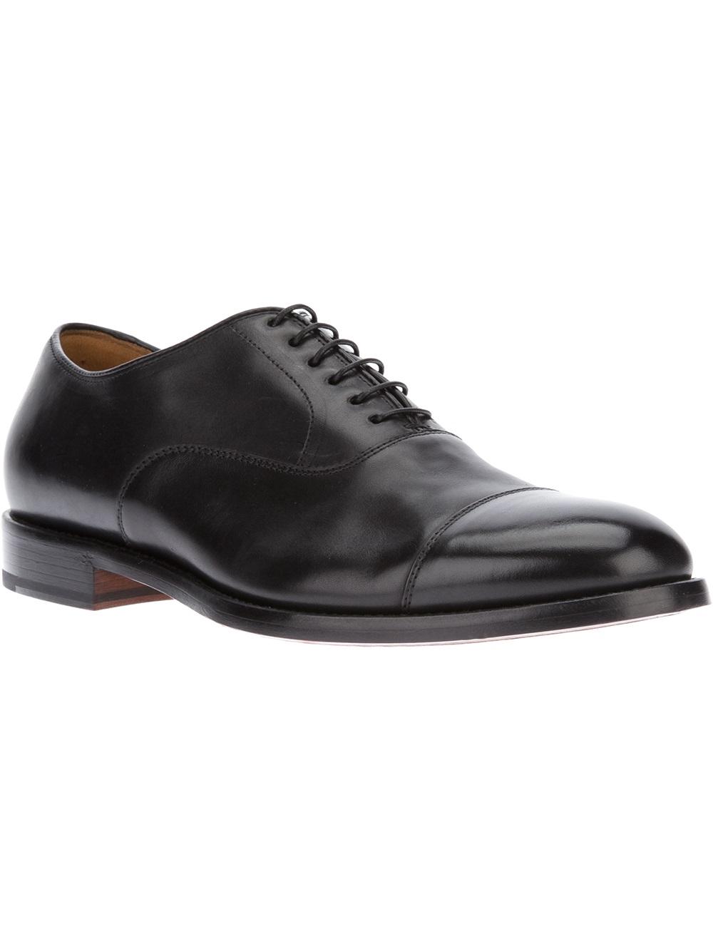 Lyst Doucal S Classic Oxford Shoes In Black For Men