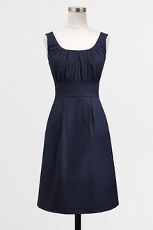 Shift Dress on Crew Factory Tailored Shift Dress In Lightweight Wool In Blue  Navy