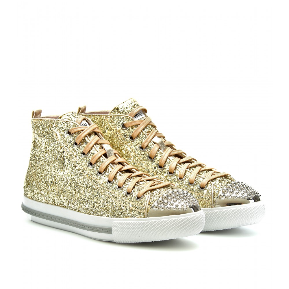 76ee28c60475 Gallery. Previously sold at: Mytheresa · Women's Miu Miu Glitter Accessories