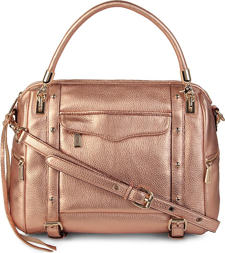 786fa4ee2706 Rebecca Minkoff Cupid Leather Crossbody Bag in Metallic - Lyst