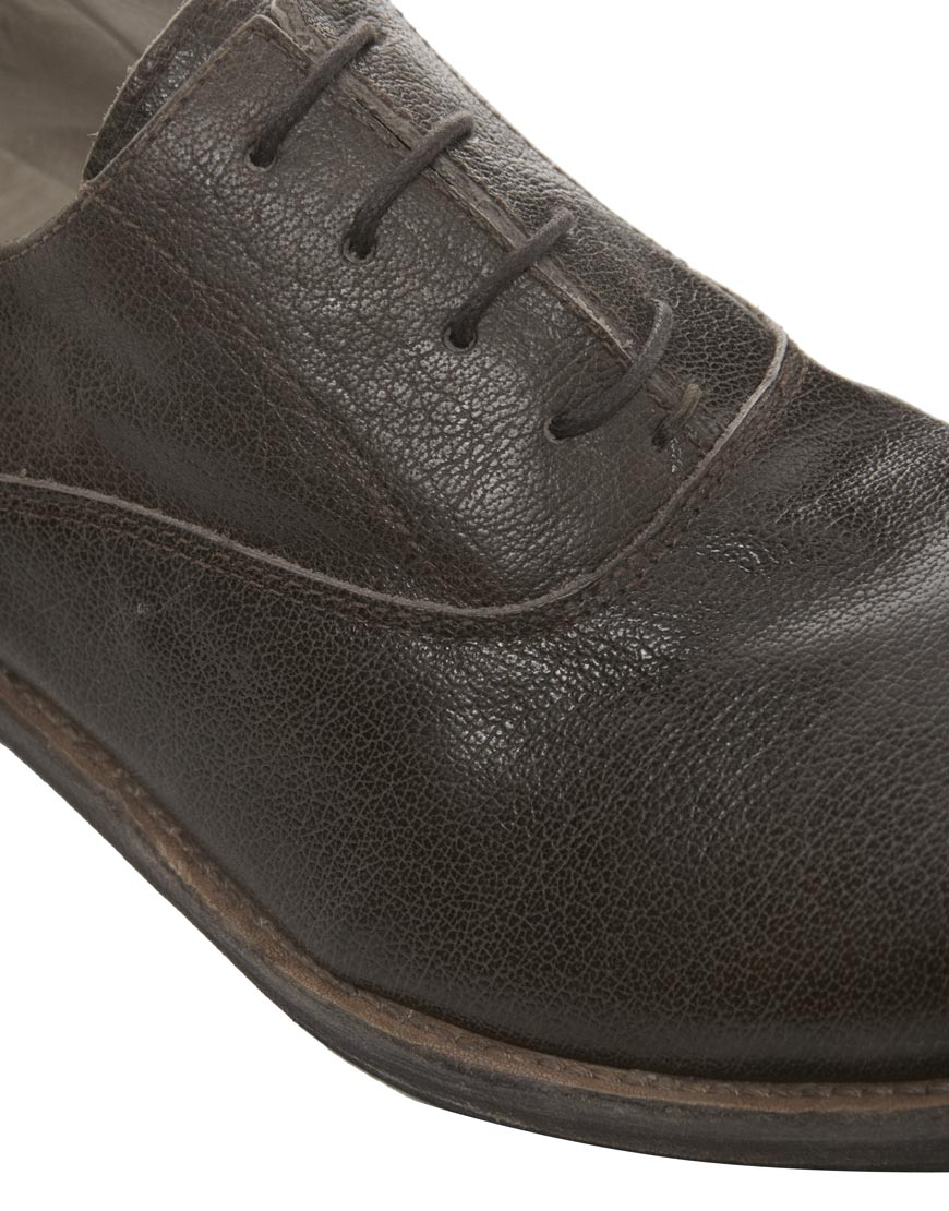 quality design caa6c 040e6 Rokin Black Roy Leather Oxford Shoes for men