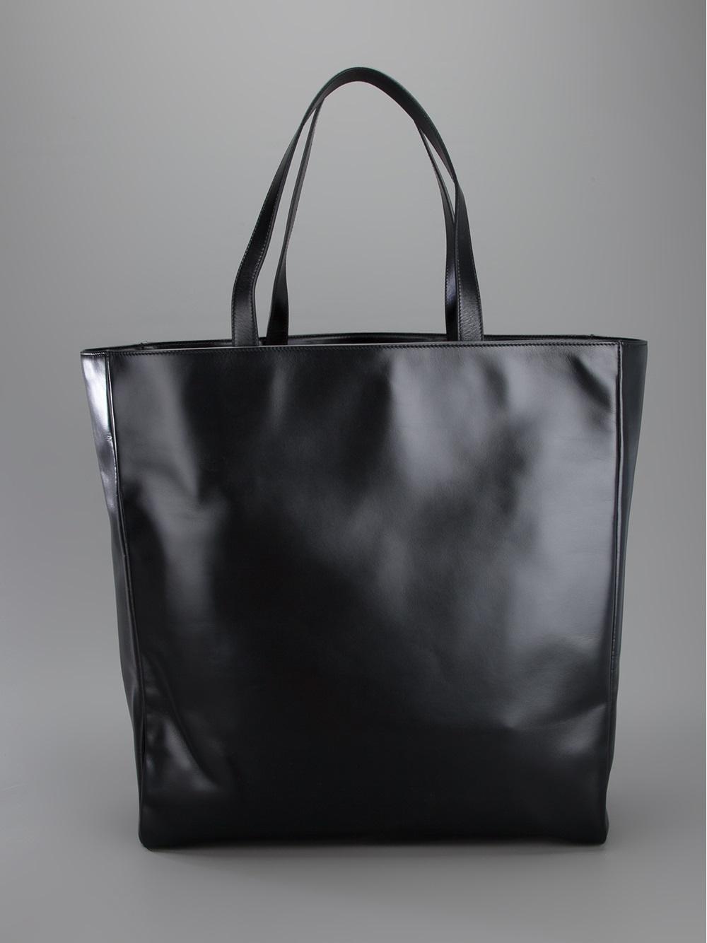 lyst saint laurent classic shopper tote in black for men. Black Bedroom Furniture Sets. Home Design Ideas