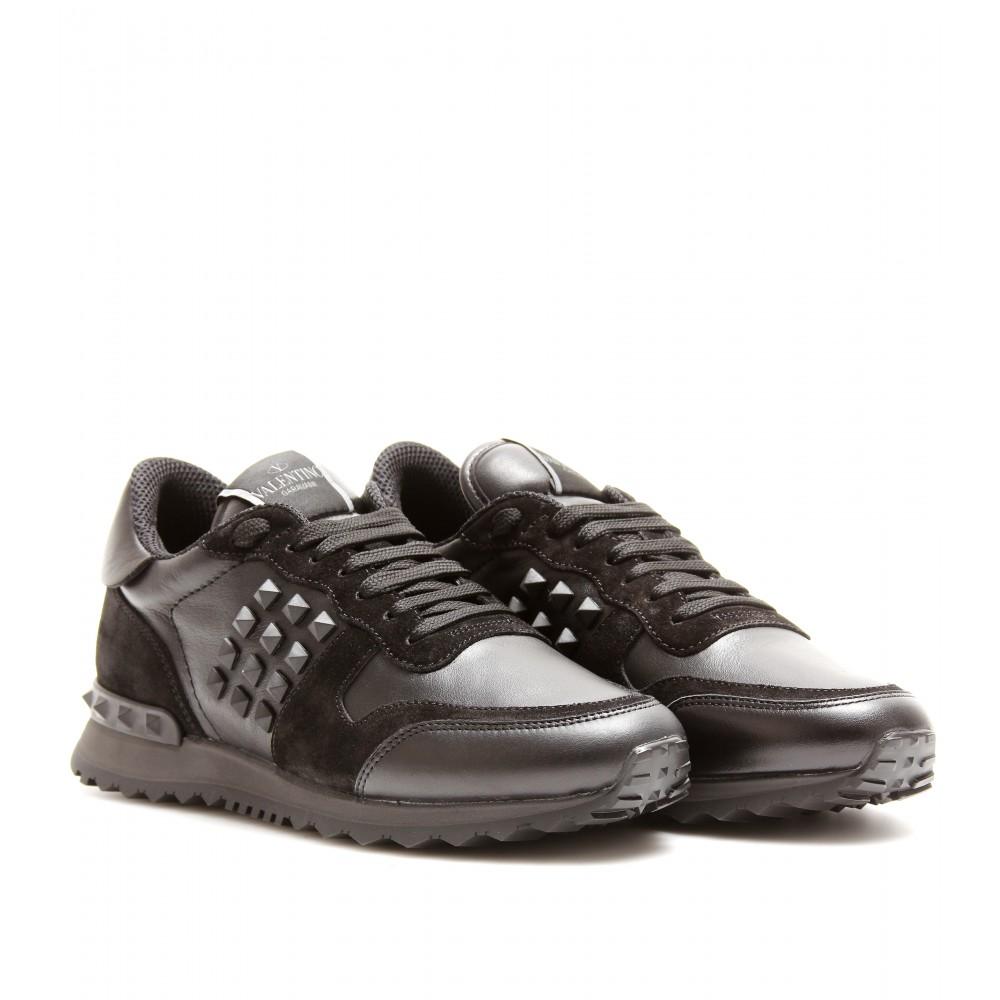 Valentino Rockstud Noir Sneakers in Black (noir) | Lyst