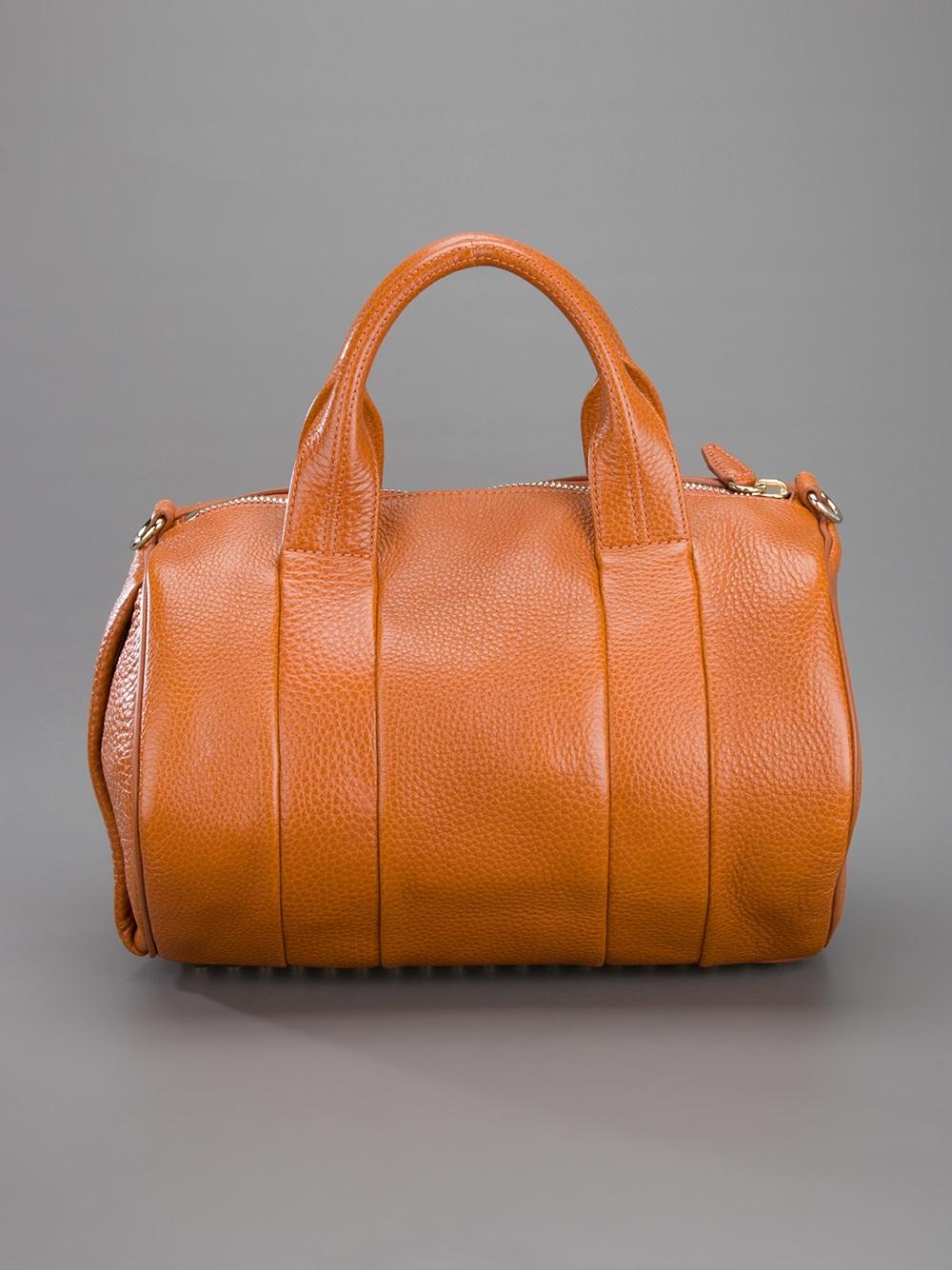 lyst alexander wang rocco bag in orange. Black Bedroom Furniture Sets. Home Design Ideas