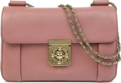 Chloe Elsie Medium Chain Shoulder Bag 27