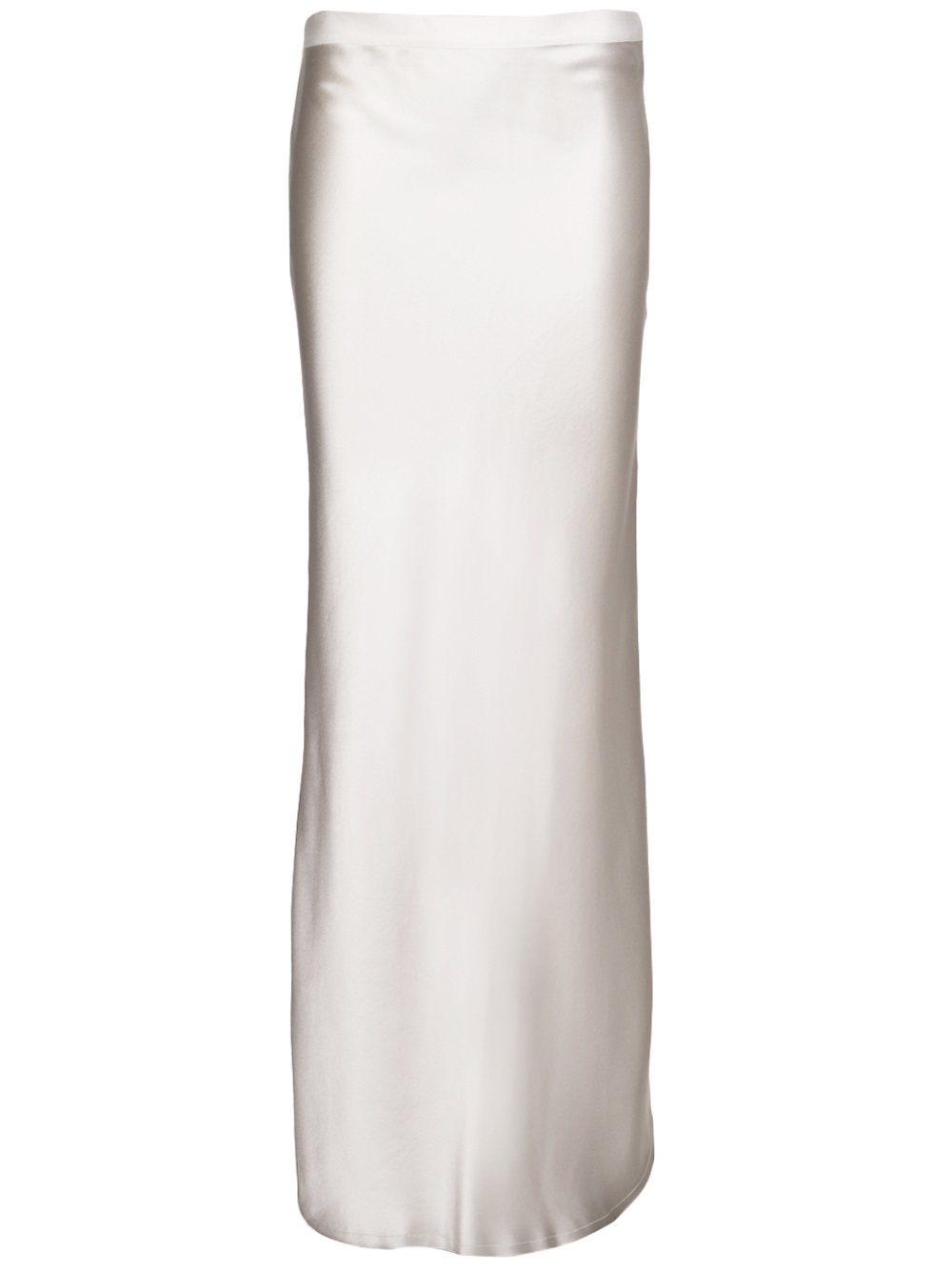Nili lotan Straight Long Skirt in White | Lyst