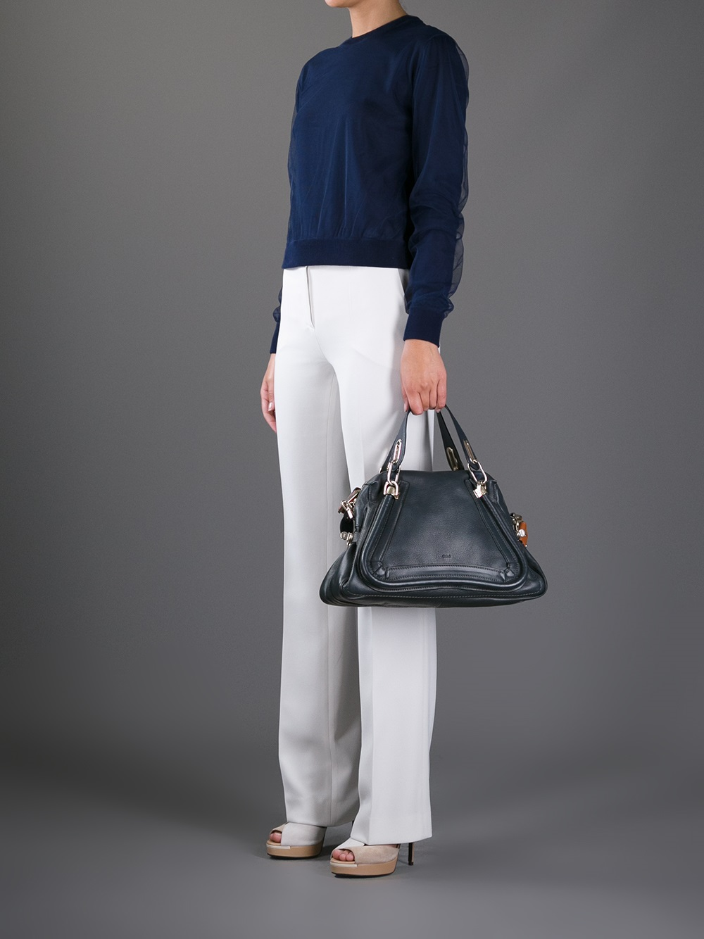 Chlo¨¦ Paraty Tote in Blue | Lyst