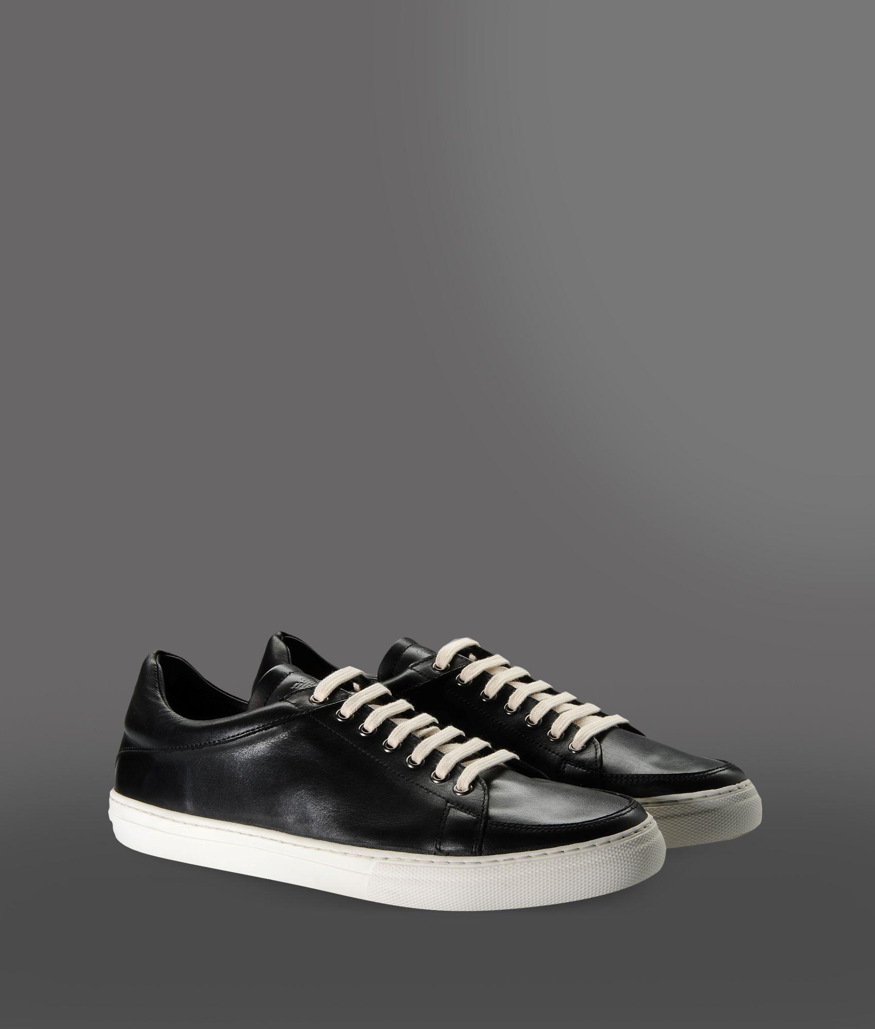 ef6875f5 Emporio Armani Black Sneakers for men