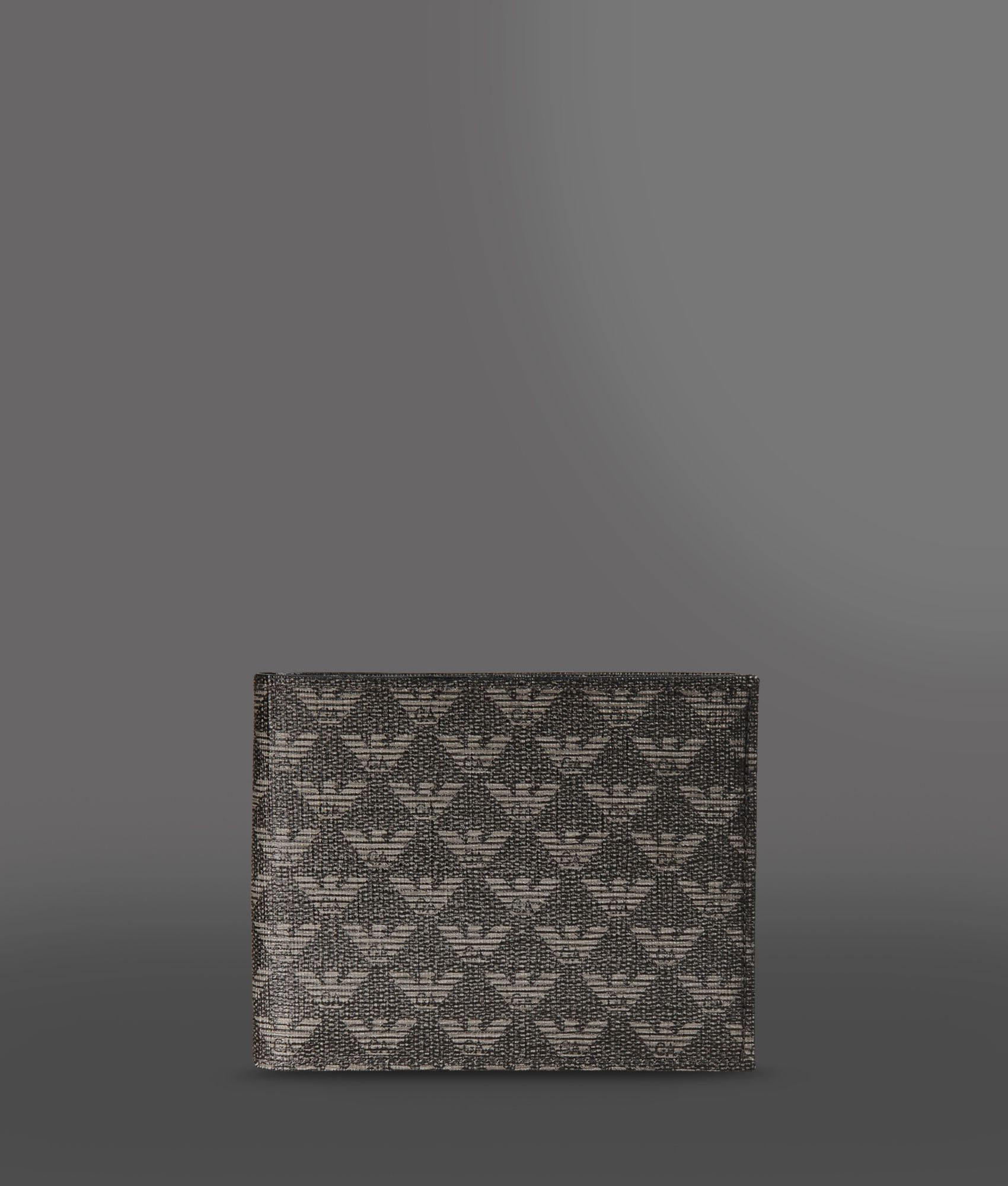 91a2fbd442 Lyst - Emporio Armani Wallet in Gray for Men