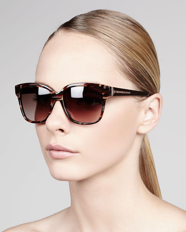 Square-frame acetate sunglasses Givenchy 5uXhtgJaJ