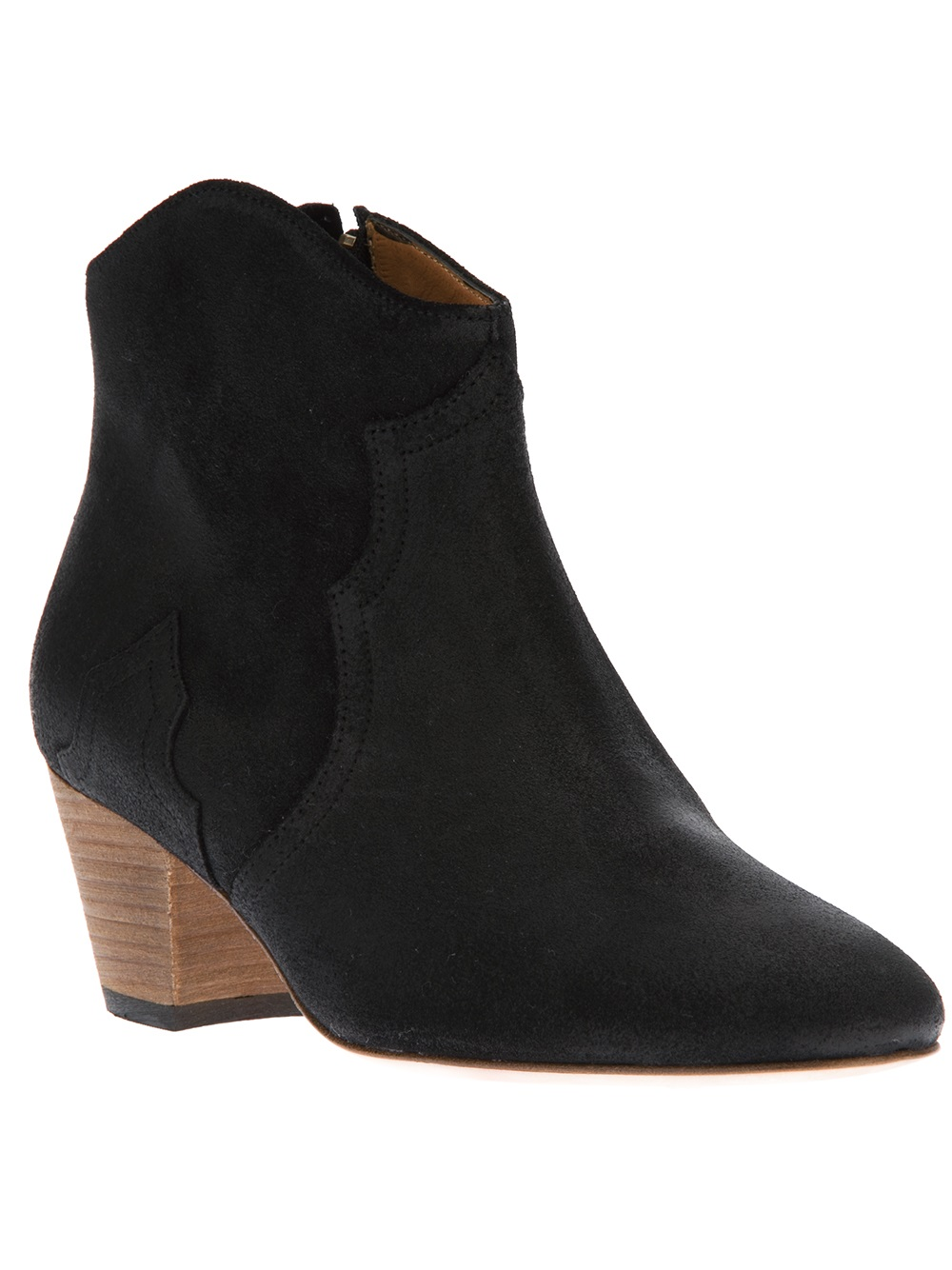 isabel marant dicker boot in black lyst. Black Bedroom Furniture Sets. Home Design Ideas