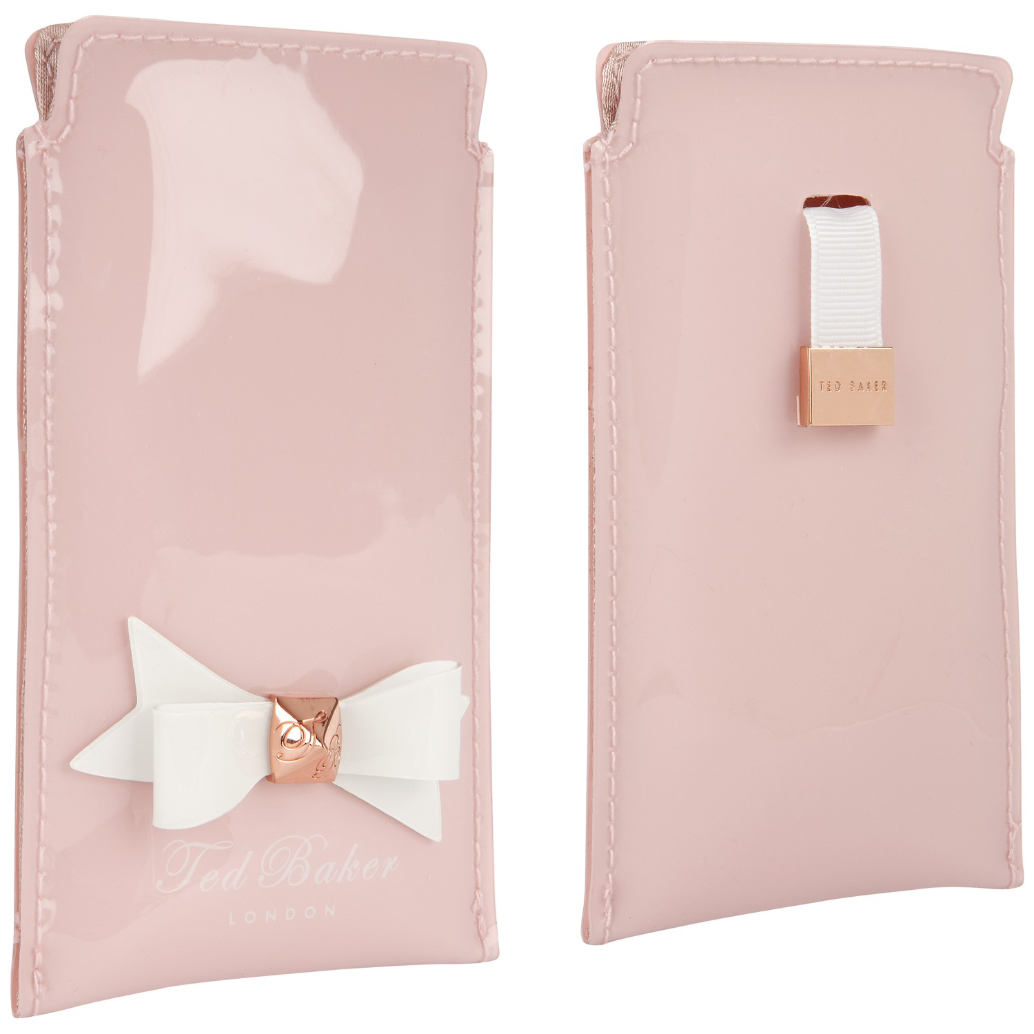 more photos eec12 ff868 Ted Baker Pink Bow Iphone 5 Slip Case