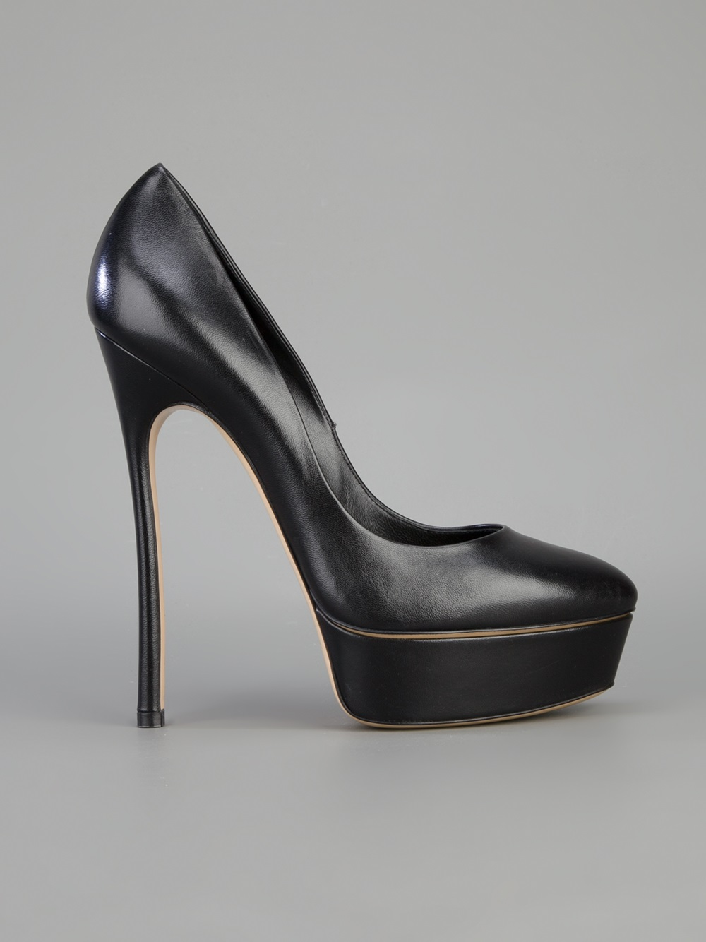Lyst Casadei Platform Stiletto Pump In Black